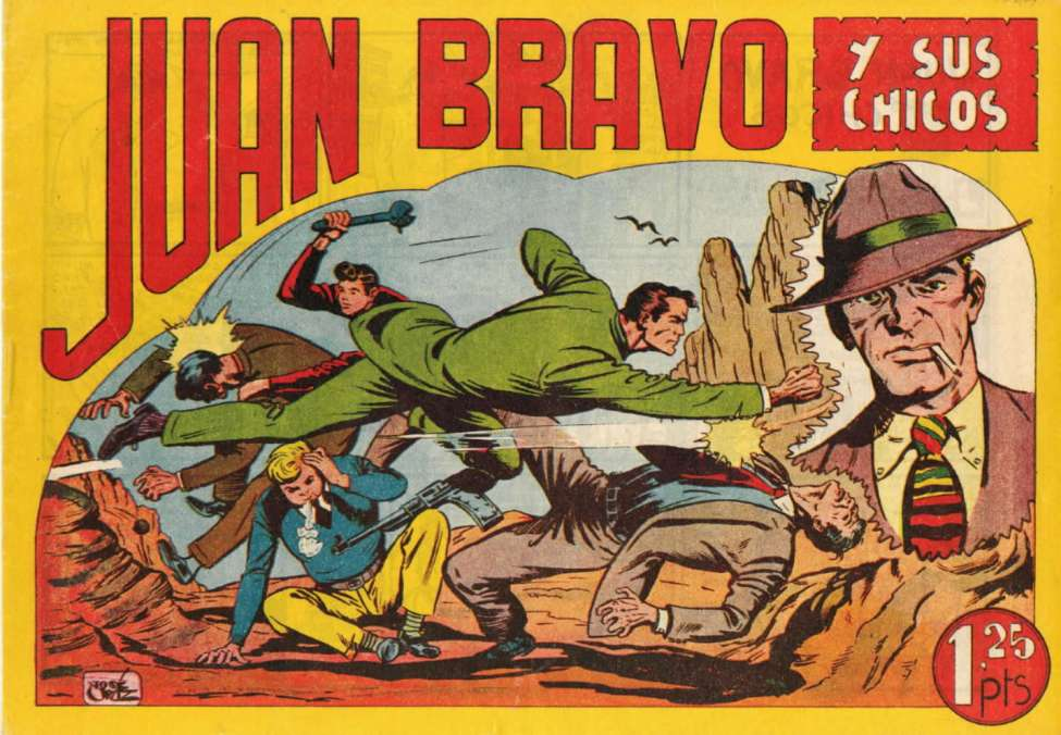 Comic Book Cover For Juan Bravo 01