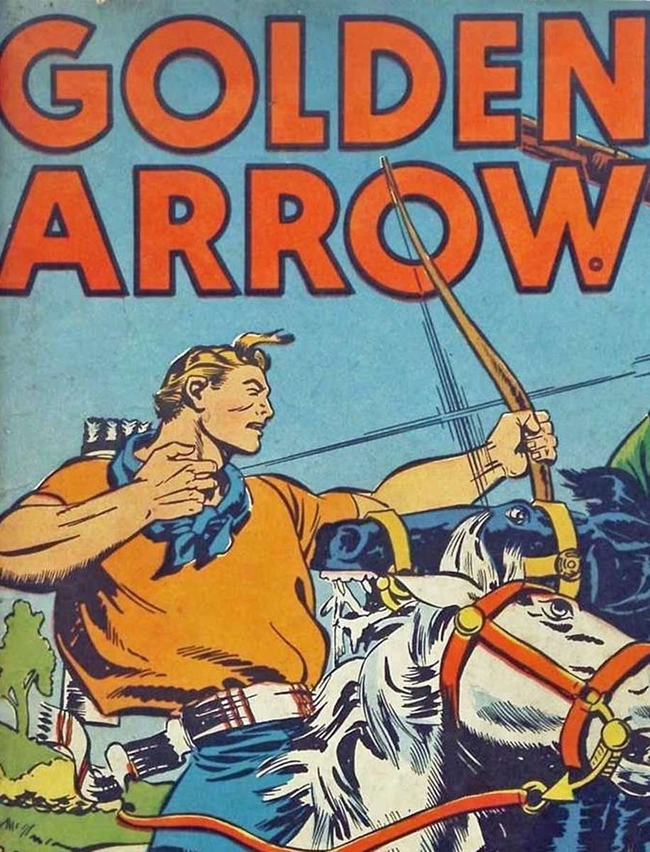 Comic Book Cover For Golden Arrow Archive Vol 12