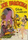 Cover For Joe Palooka Visits The Lost City