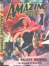 Cover For Amazing Stories v24 2 The Galaxy Raiders William P. McGivern