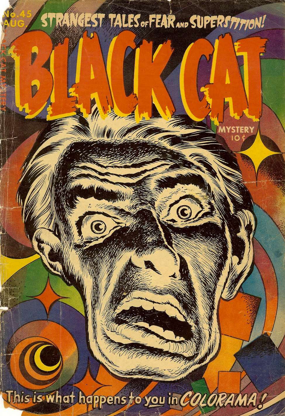 Comic Book Cover For Black Cat #45