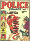 Cover For Police Comics 7