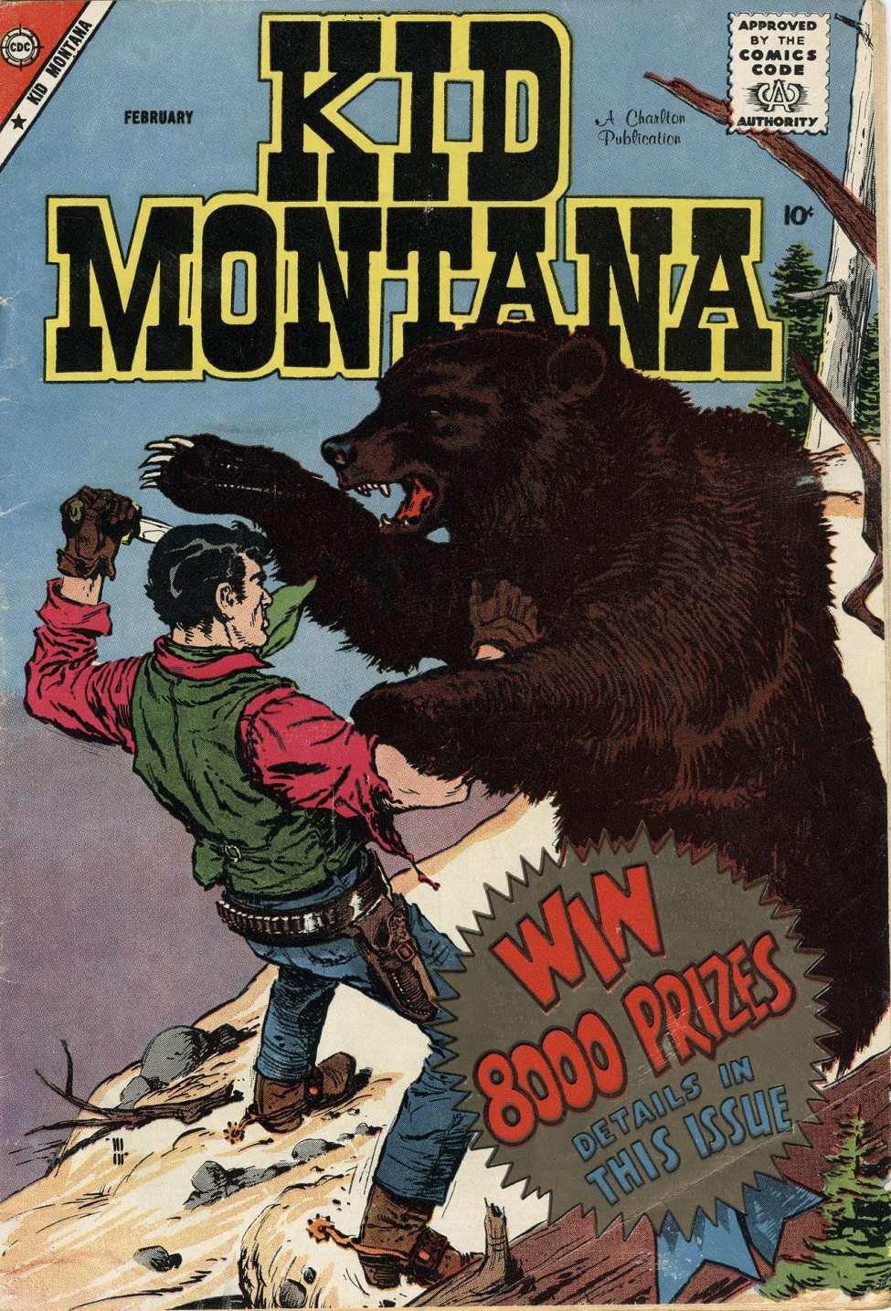Comic Book Cover For Kid Montana #16