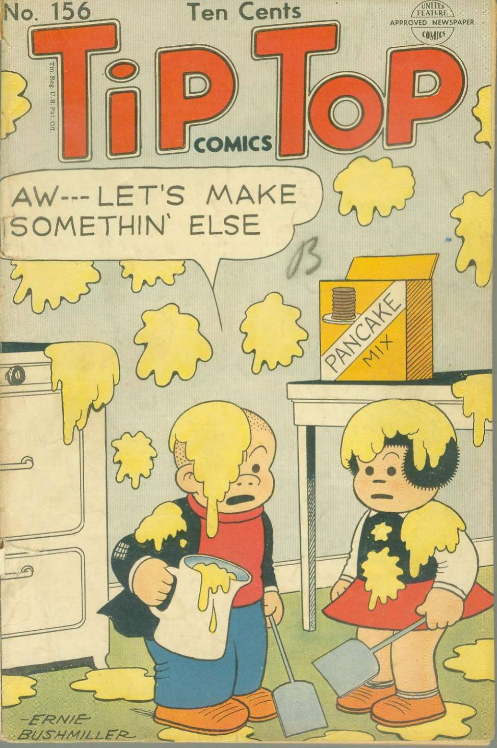 Comic Book Cover For Tip Top Comics 156