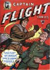Cover For Captain Flight Comics 1