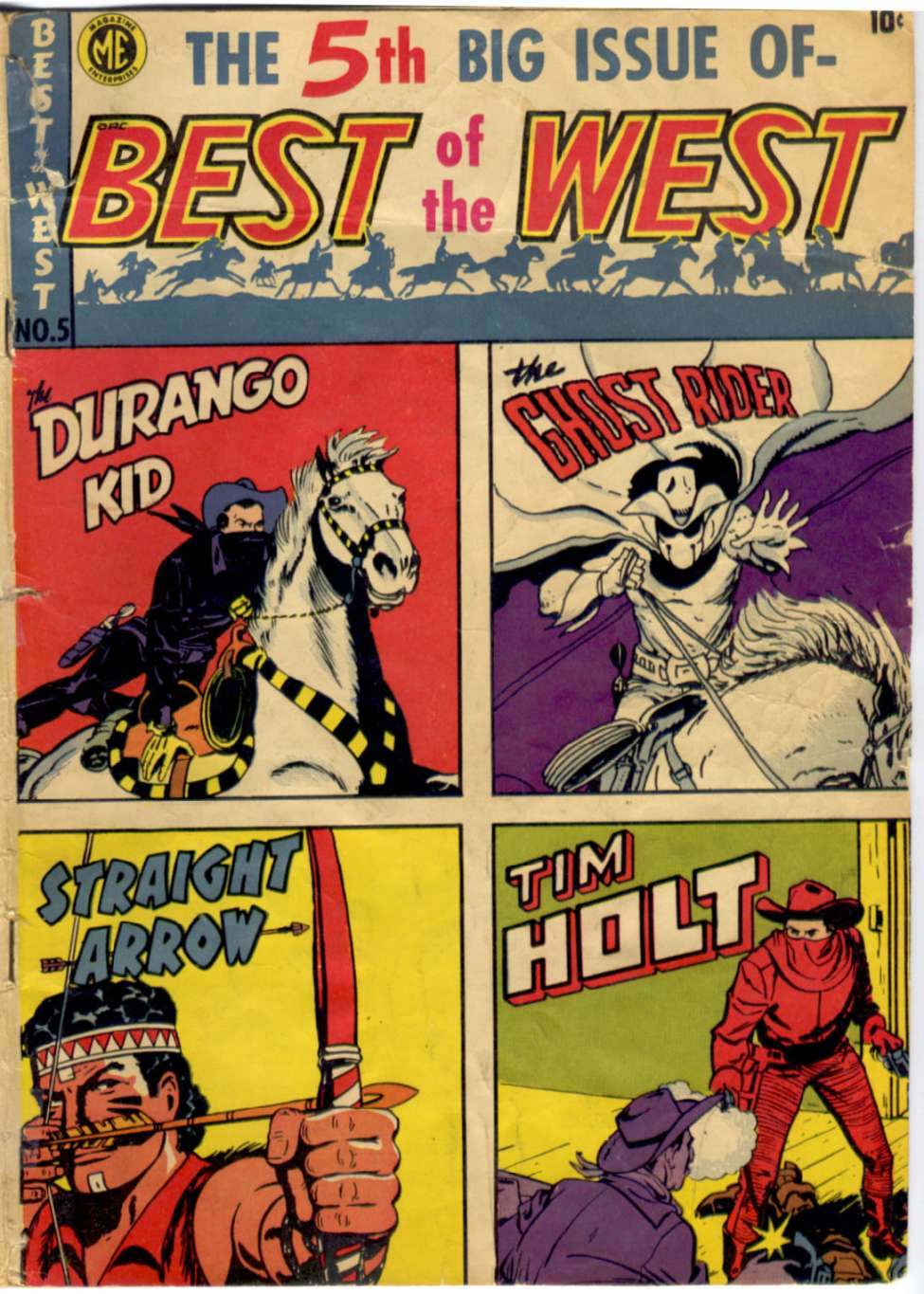 Comic Book Cover For Best of the West 5 [A-1 #66]
