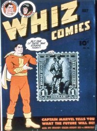 Large Thumbnail For Capt. Marvel Whiz Archives Vol 13