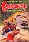 Cover For Fantastic Adventures v4 3 War on Venus Edgar Rice Burroughs