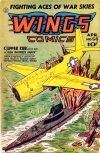 Cover For Wings Comics 56
