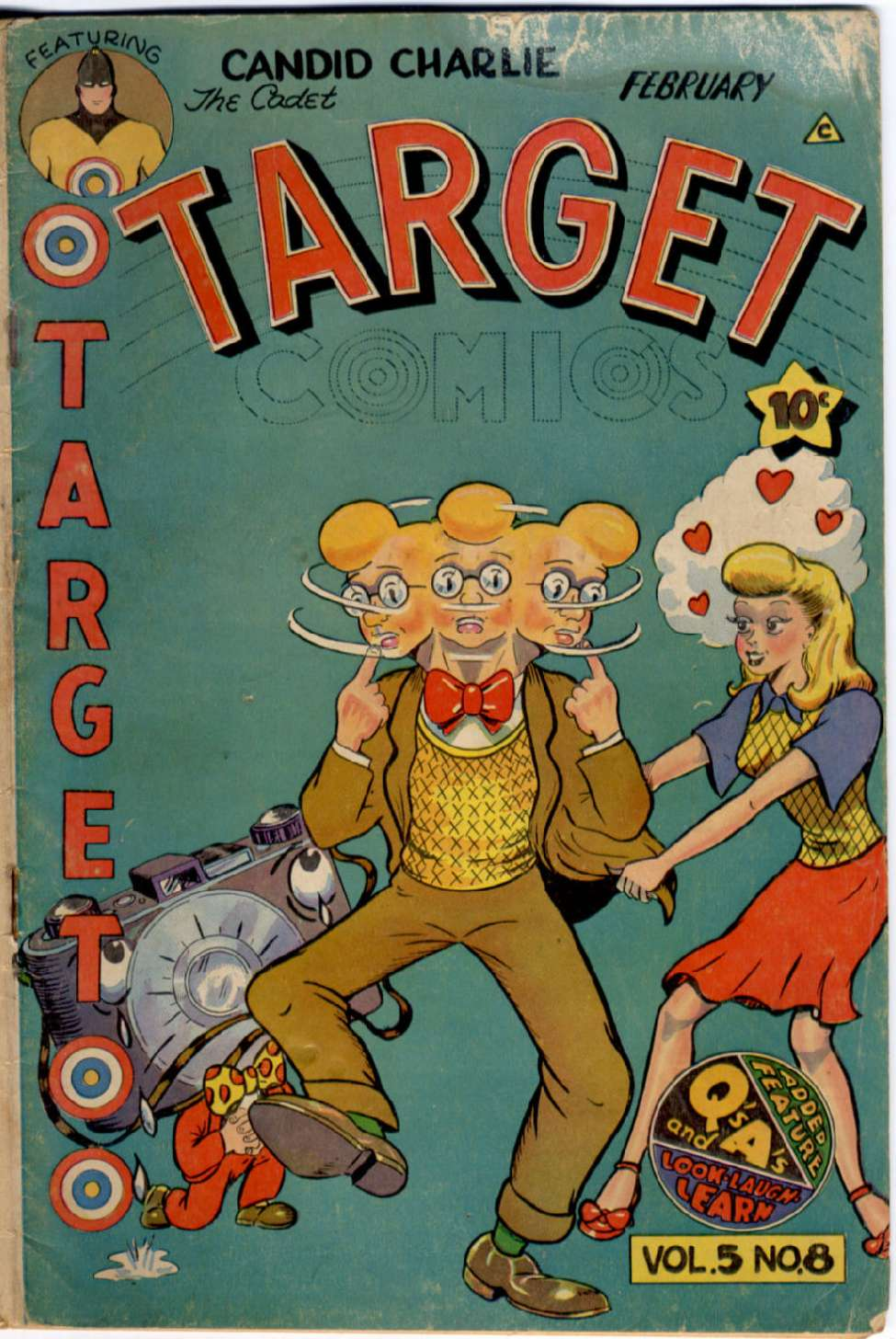 Comic Book Cover For Target Comics v5 8 [56]