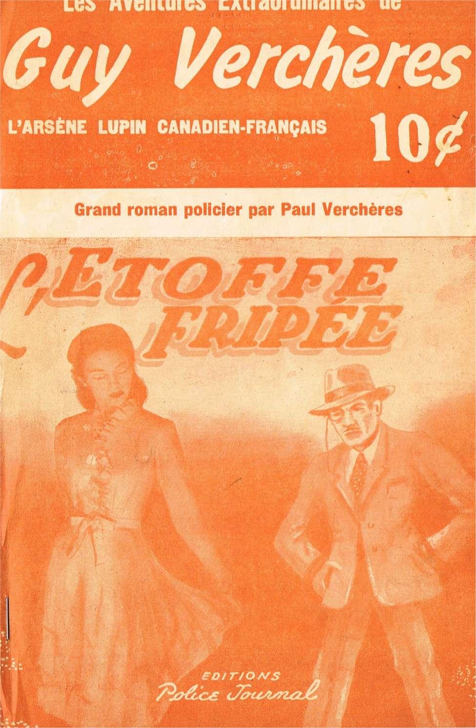 Comic Book Cover For Guy Verchères 15 - L'étoffe fripée
