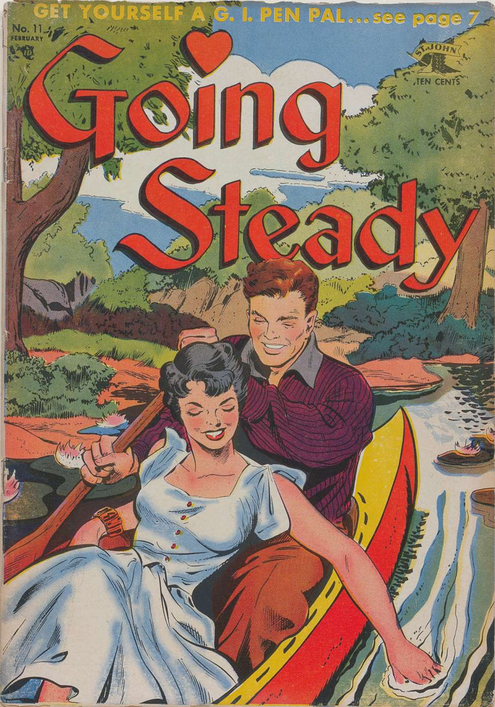 Comic Book Cover For Going Steady #11