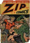 Cover For Zip Comics 18