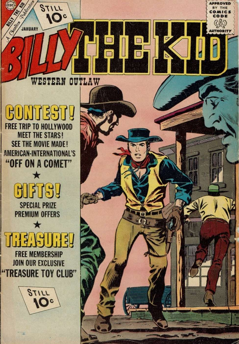 Comic Book Cover For Billy the Kid #32
