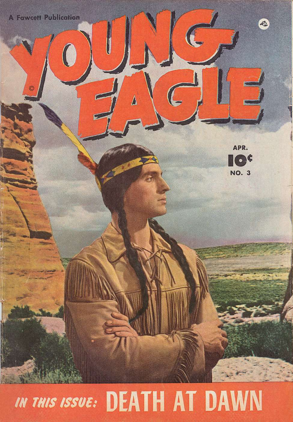 Comic Book Cover For Young Eagle #3