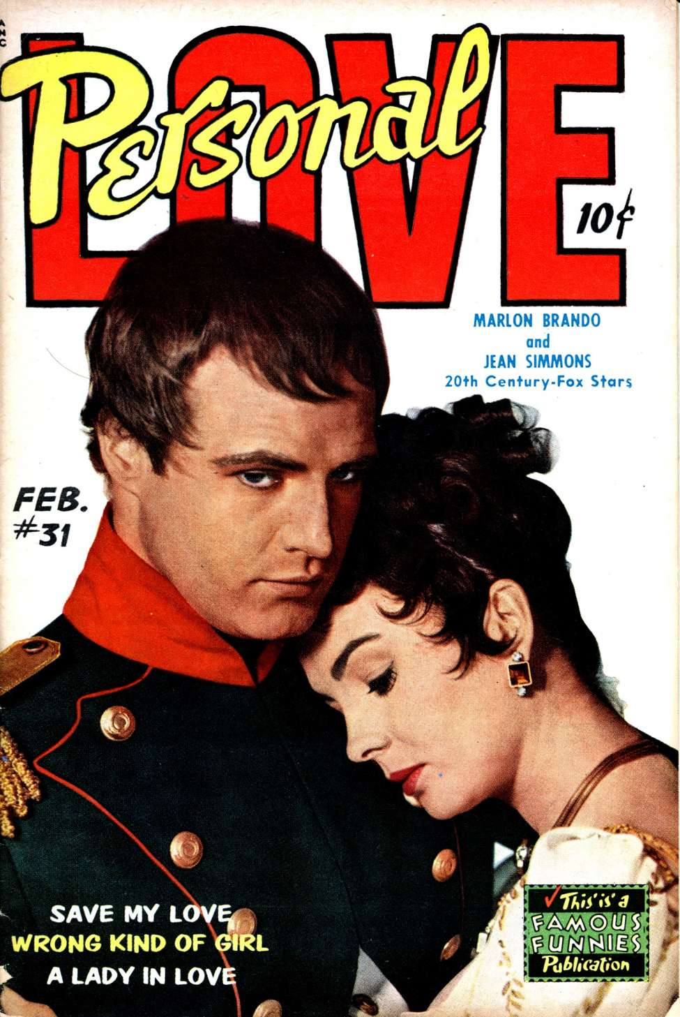 Comic Book Cover For Personal Love #31