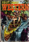 Cover For Prize Comics Western 102