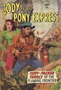 Large Thumbnail For Cody of the Pony Express #1