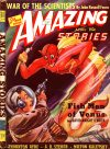 Cover For Amazing Stories v14 4 Fish Men of Venus David Wright O'Brien