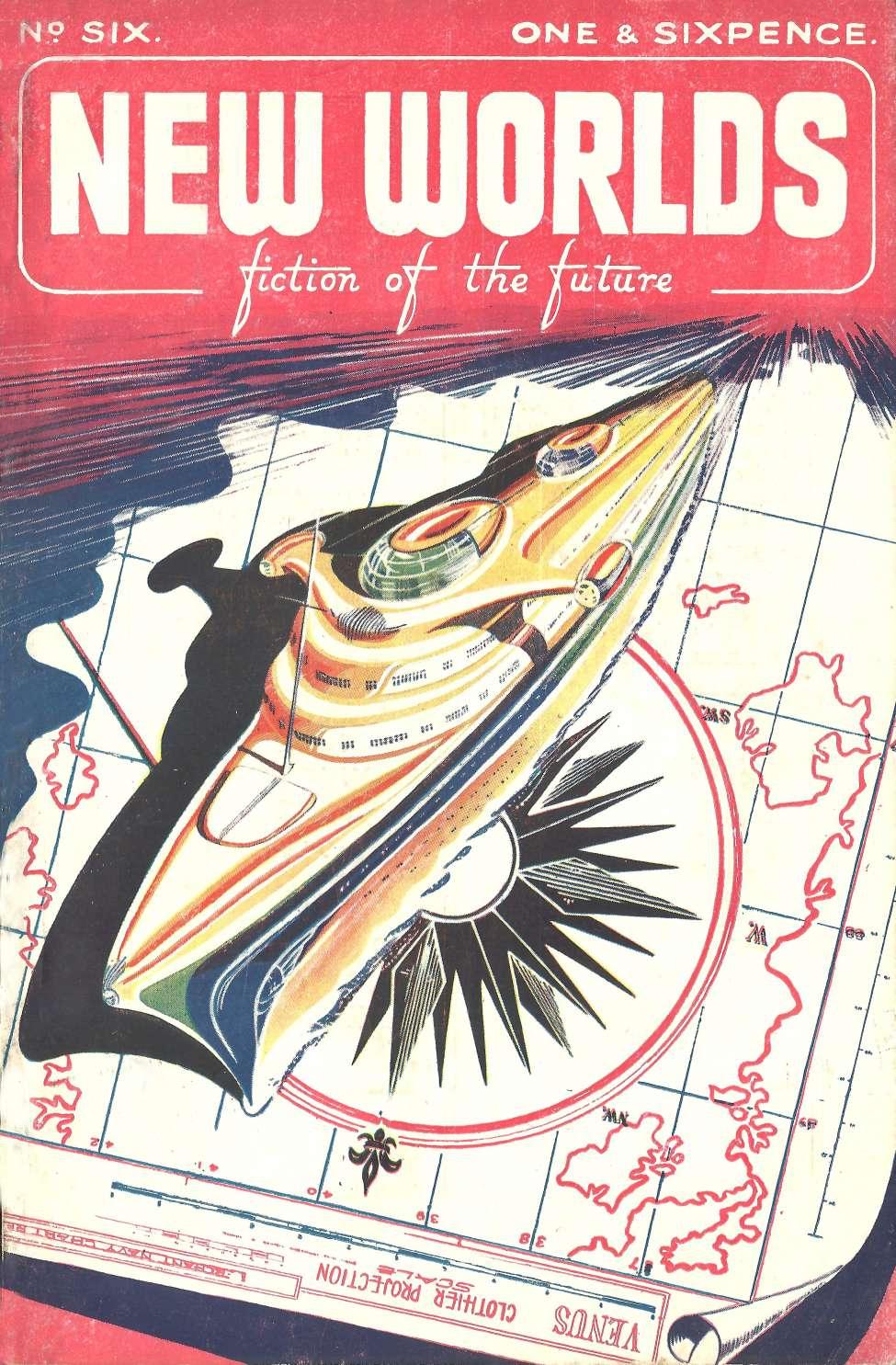 Comic Book Cover For New Worlds v02 006 - Phoenix Nest - John Aiken