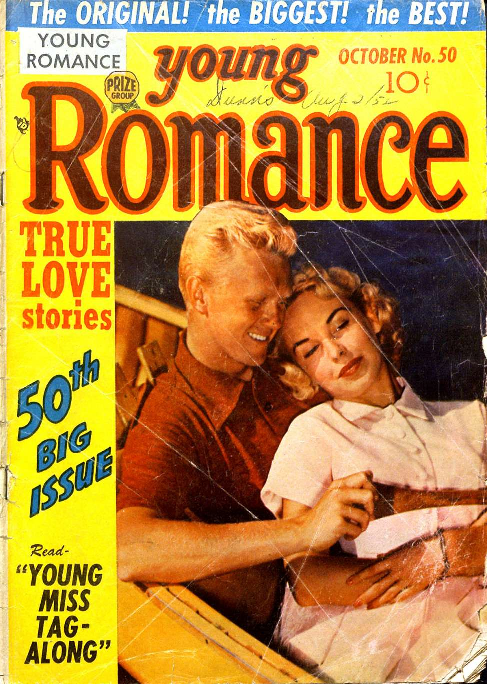 Comic Book Cover For Young Romance v6 2 (50)
