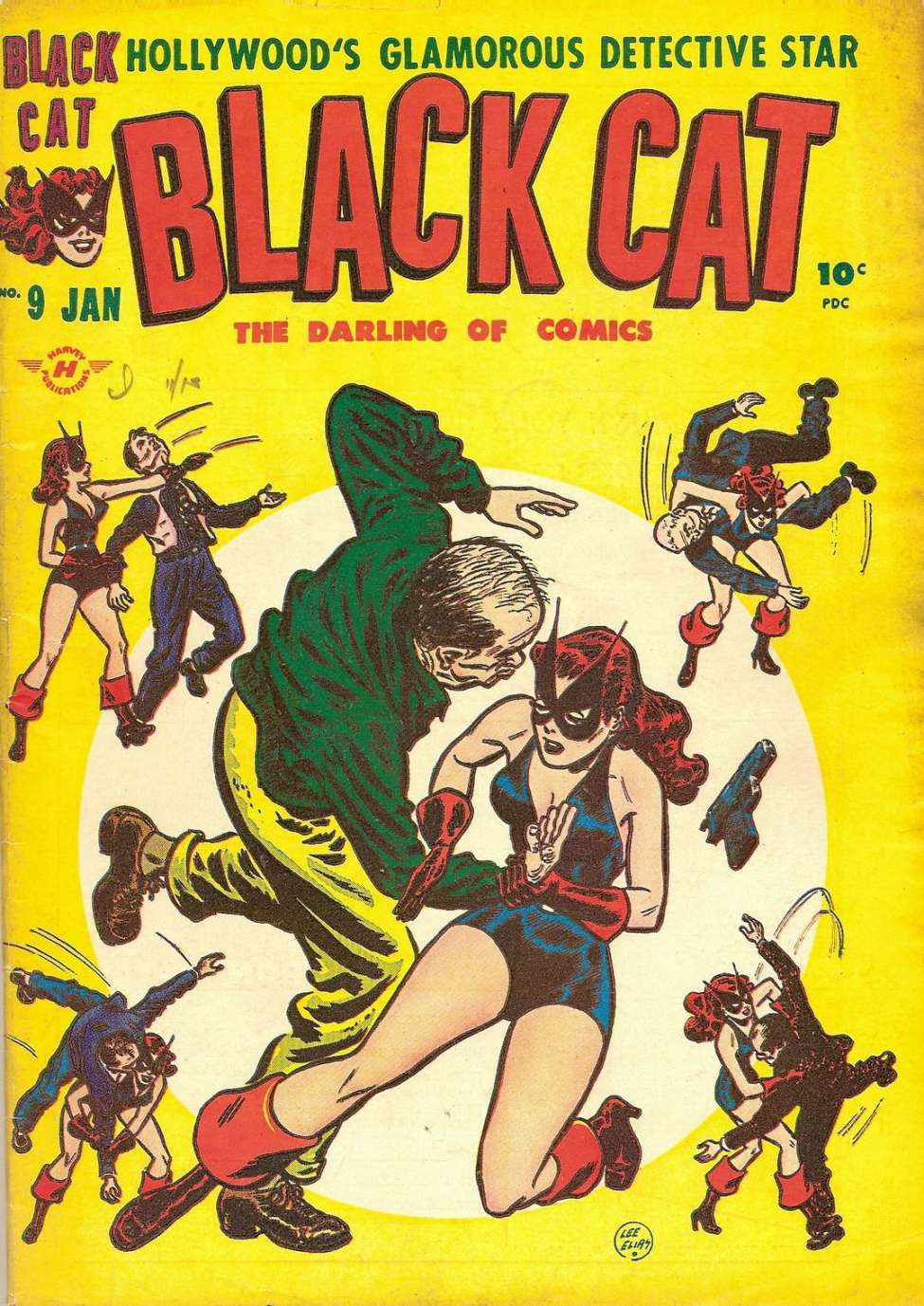 Comic Book Cover For Black Cat #9