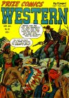 Cover For Prize Comics Western 83