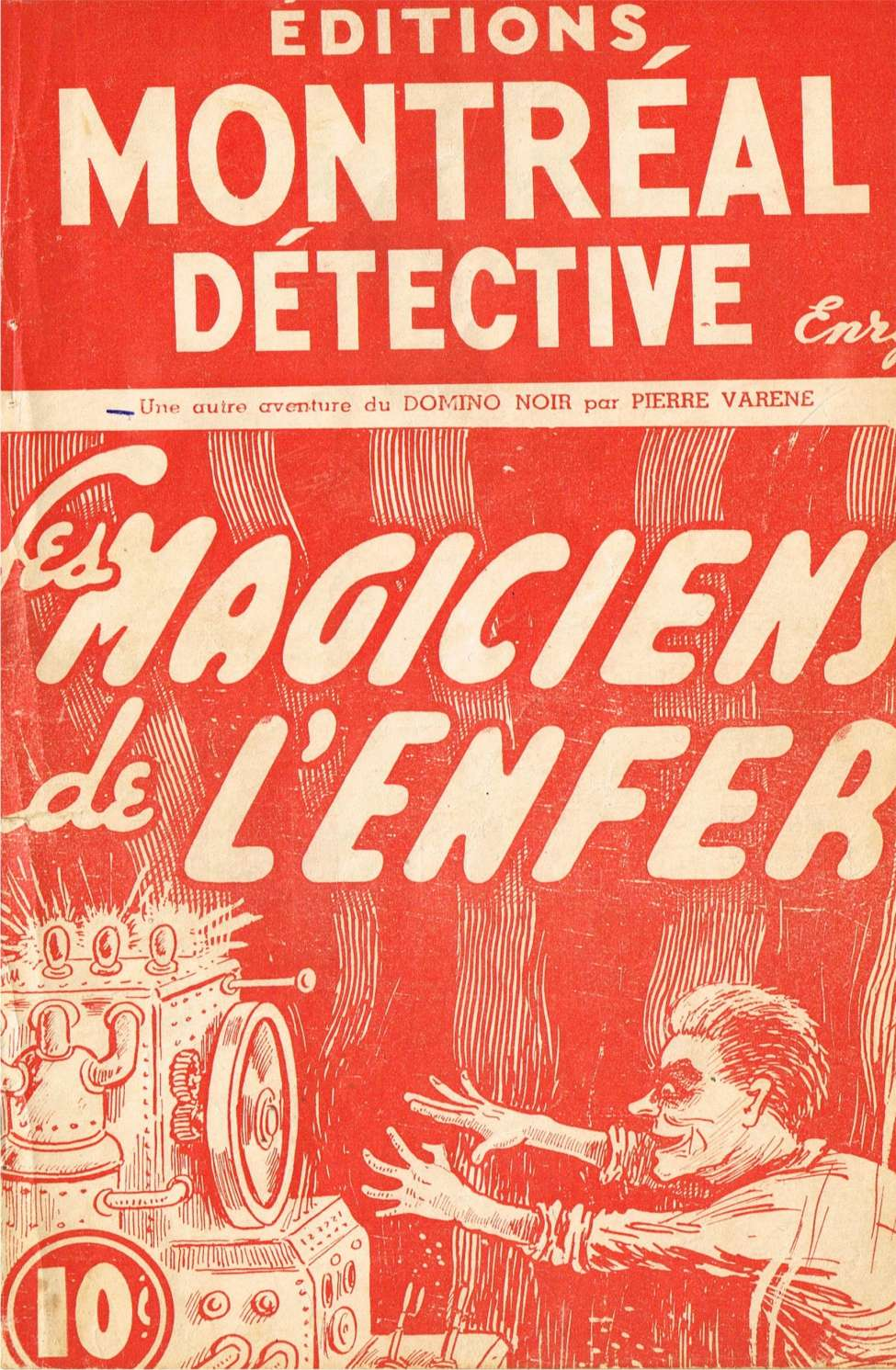 Comic Book Cover For Domino Noir 17 - Les magiciens de l'enfer