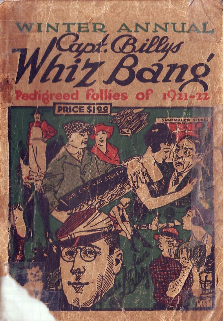 Comic Book Cover For Capt Billy's Whiz Bang Winter Annual 1921-22