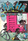 Cover For Ha Ha Comics 39