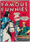 Cover For Famous Funnies 105