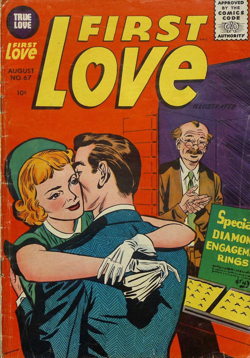 Comic Book Cover For First Love Illustrated #67