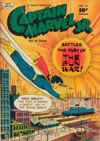 Large Thumbnail For Captain Marvel Jr. #76