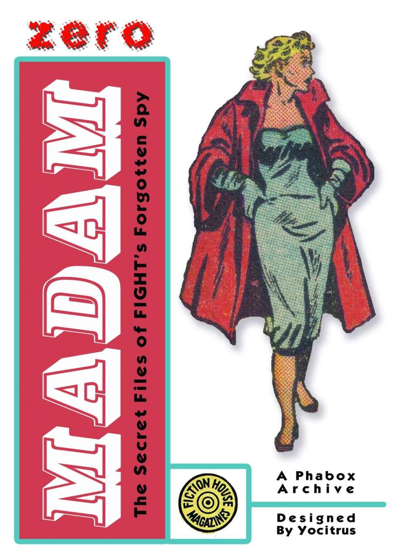 Comic Book Cover For Madam Zero Secret Files ver2