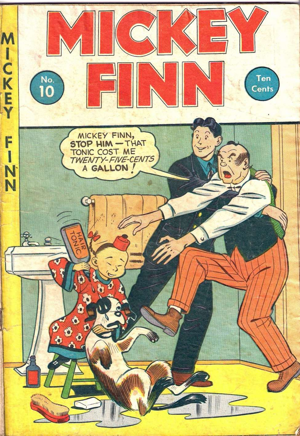 Comic Book Cover For Mickey Finn #10