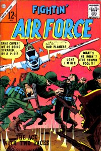 Large Thumbnail For Fightin' Air Force #49