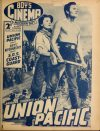 Cover For Boy's Cinema 1037 Union Pacific Barbara Stanwyck