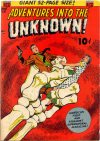 Cover For Adventures into the Unknown 28