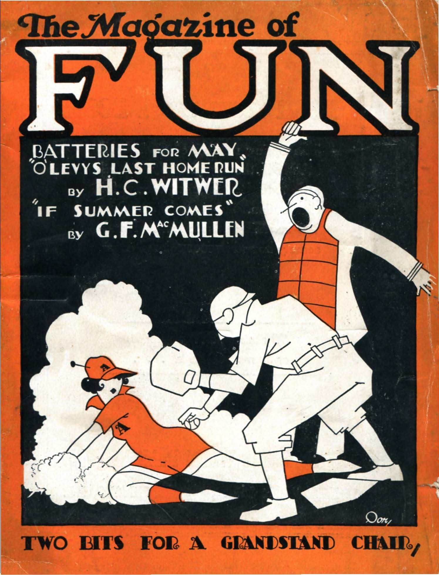 Comic Book Cover For The Magazine of Fun v02 05