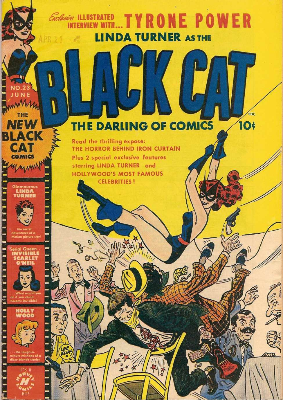 Comic Book Cover For Black Cat #23