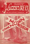 Cover For L'Agent IXE 13 v2 68 Monsieur Unknown