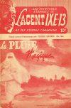 Cover For L'Agent IXE 13 v2 164 La pluie magique