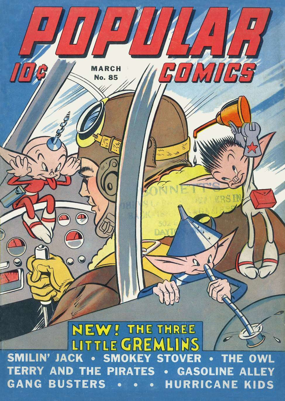 Comic Book Cover For Popular Comics #85