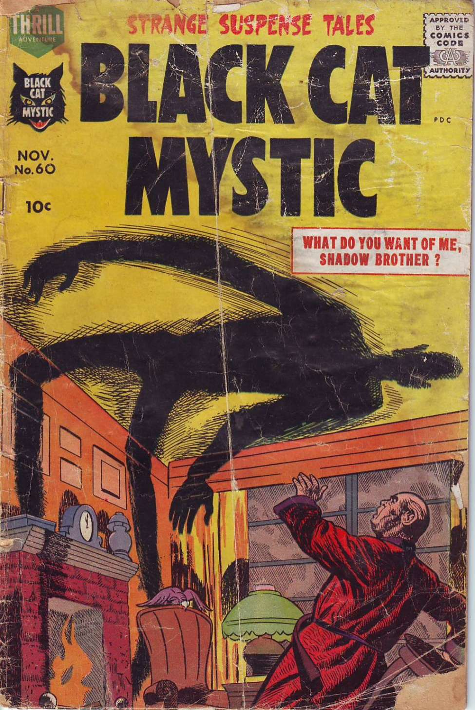 Comic Book Cover For Black Cat #60