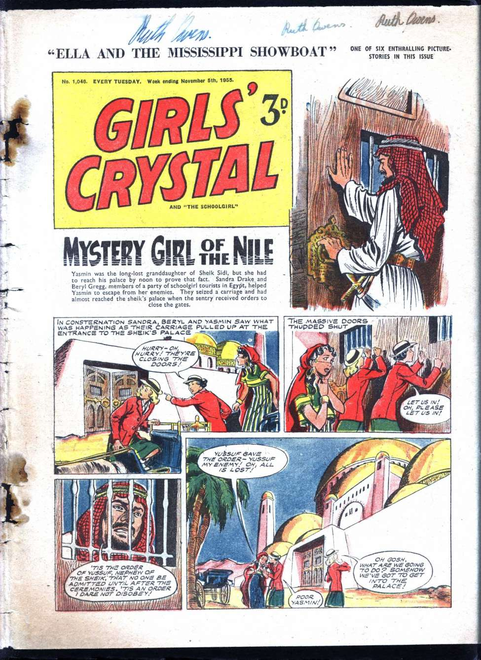 Comic Book Cover For Girls' Crystal 1046