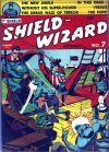 Cover For Shield Wizard Comics 7