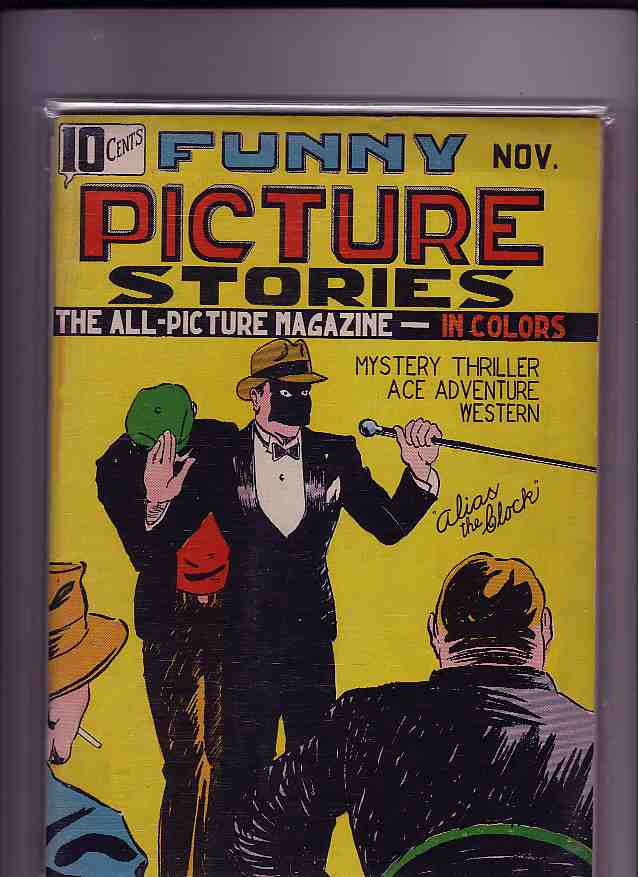 Comic Book Cover For Funny Picture Stories v1 #1