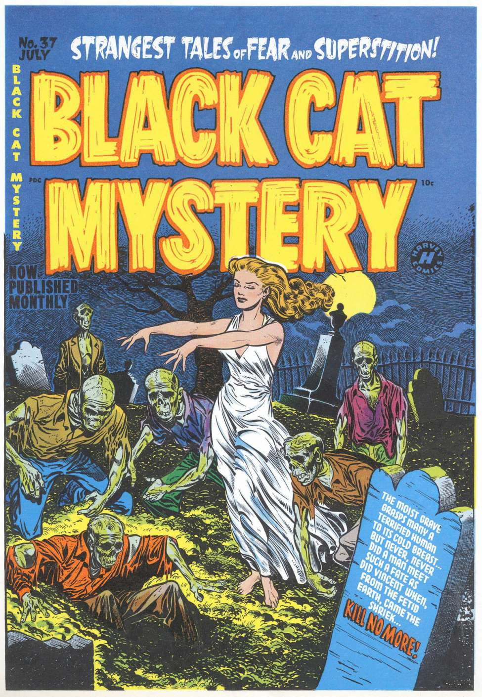 Comic Book Cover For Black Cat #37