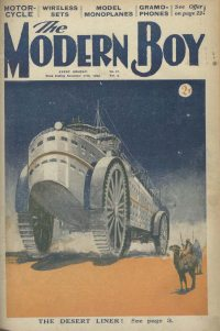 Large Thumbnail For The Modern Boy 041 - The Desert Liner