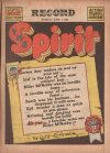 Cover For The Spirit (1941 6 1) Philadelphia Record